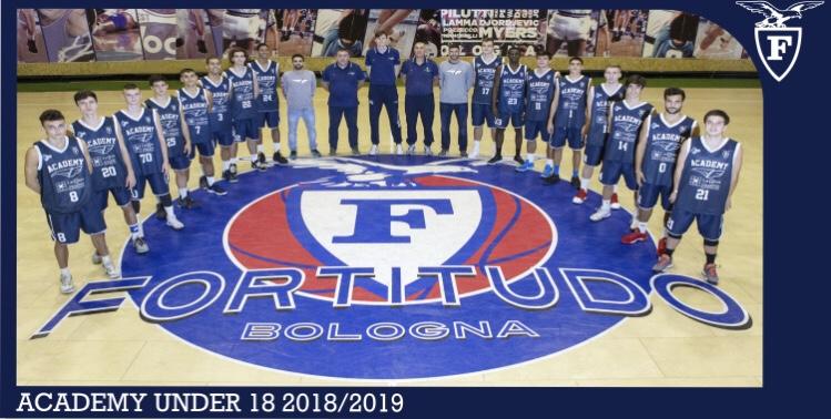 Foto squadra Fortitudo103Academy 2019