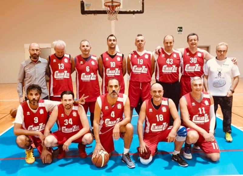 Foto squadra NavileBasket 2019