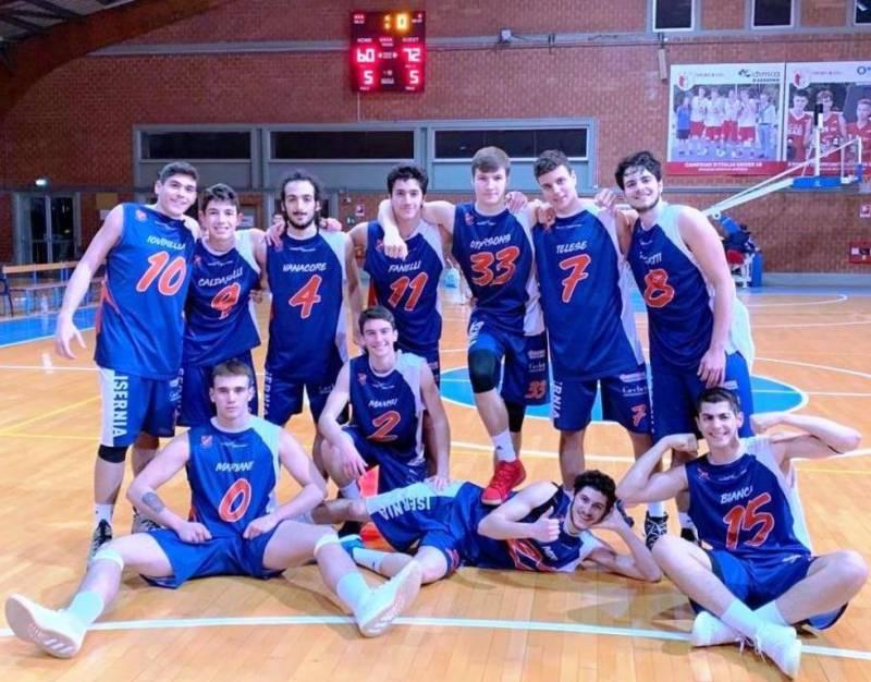 Foto squadra AccademiaPall.Isernia 2019