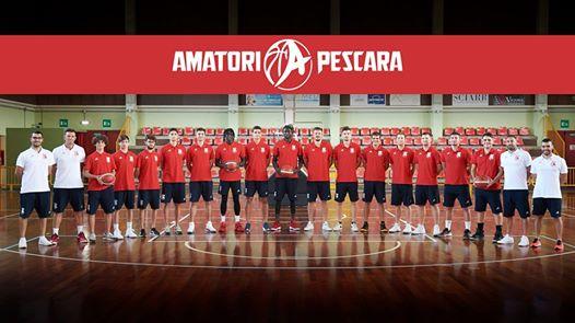 Foto squadra Pall.Pescara 2020