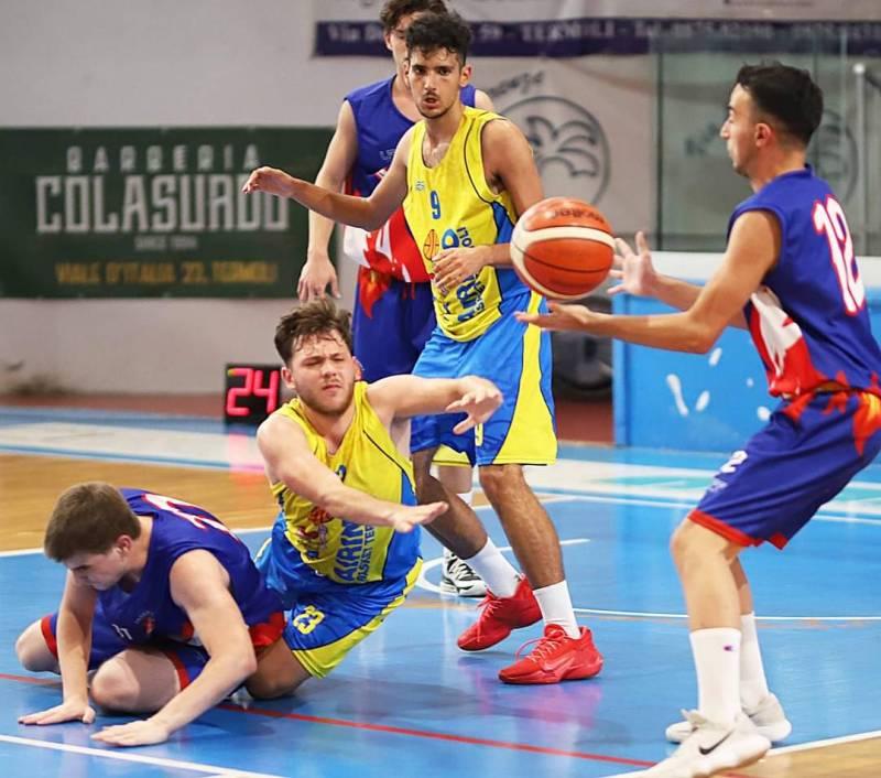 Airino cede a Basketball Teramo nell'ultima di campionato