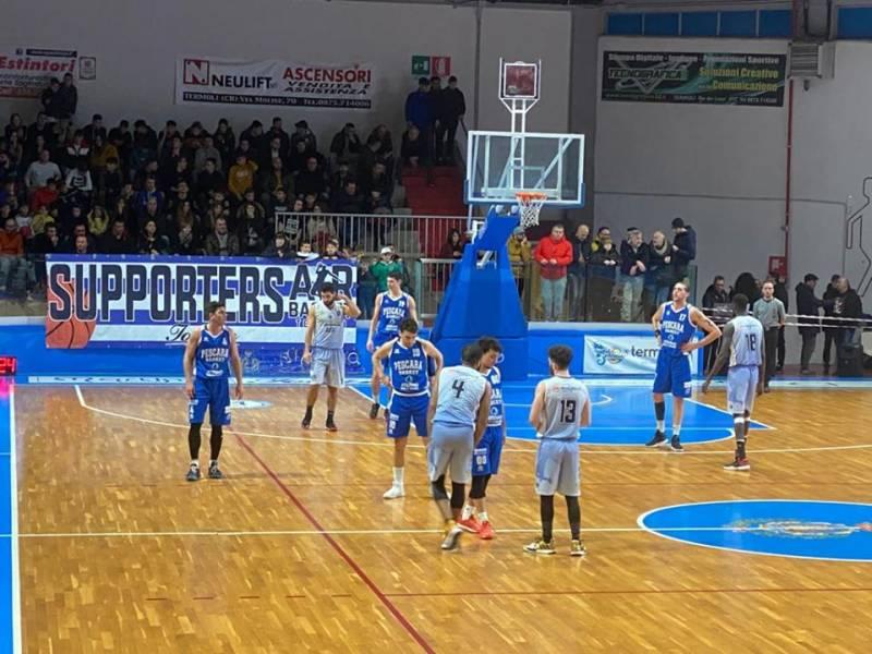 Pescara Basket, che carattere| I Biancazzurri vincono a Termoli un match importantissimo