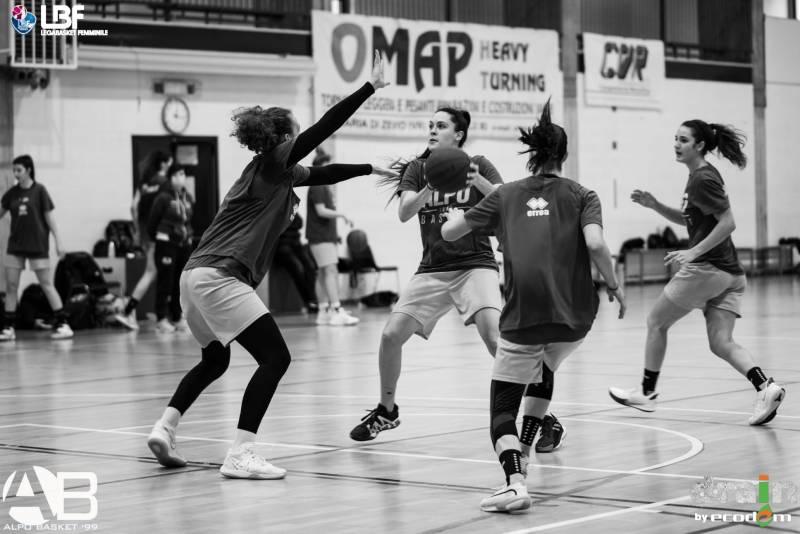 Drain by Ecodem Alpo chiude il girone d'andata contro BC Bolzano
