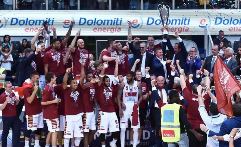 Umana Reyer Venezia Campione d'Italia!