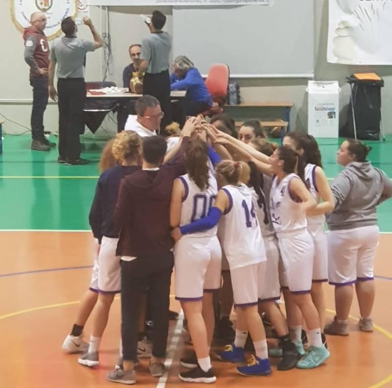 Ultima gara del campionato per il Blue Ponente Basket sabato sera in quel di Genova