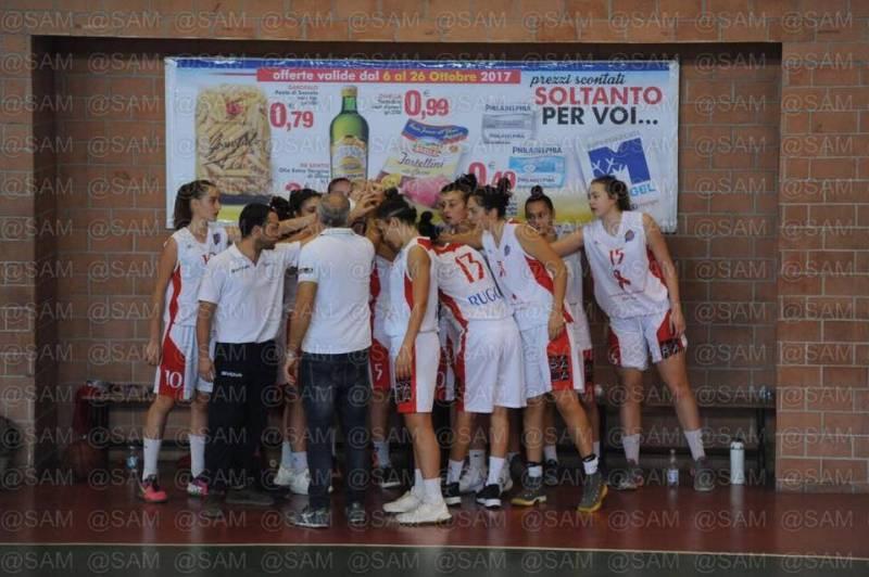 Nulla da fare per il Basket Ruggi Salerno in casa del forte Azzurro Cercola