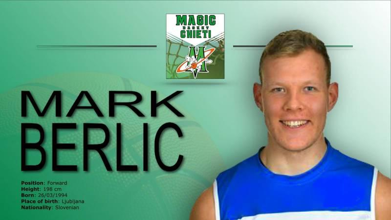 Lo sloveno Mark Berlic è il nuovo acquisto della Magic