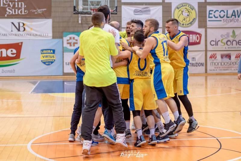 New Virtus Mesagne al tappeto: il Basket Club Cerignola è promosso in C Silver