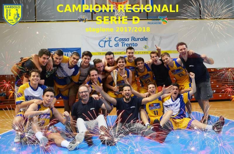 Il Gardolo vince il campionato di Serie D!