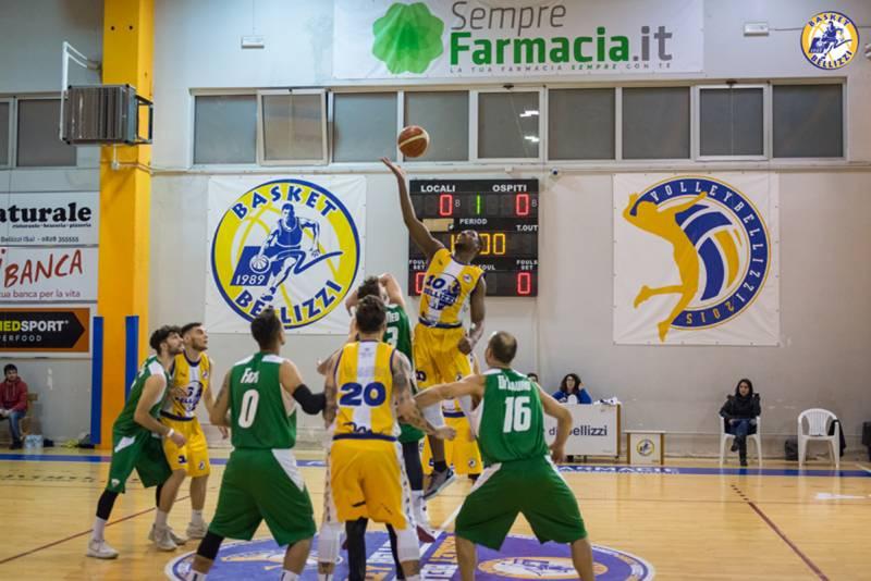 Il Basket Bellizzi riceve il Basket Club Irpinia