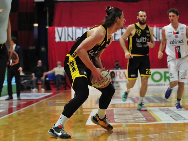 La Withu Bergamo esce sconfitta dall'Hype Forum di Biella con il punteggio di 82-66