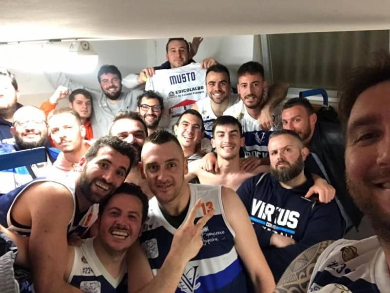 Capolavoro Virtus in Gara-1 dei playoff in casa della capolista Bitritto