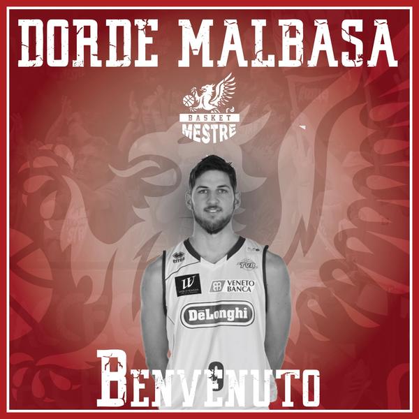 Benvenuto, Dorde Malbasa!