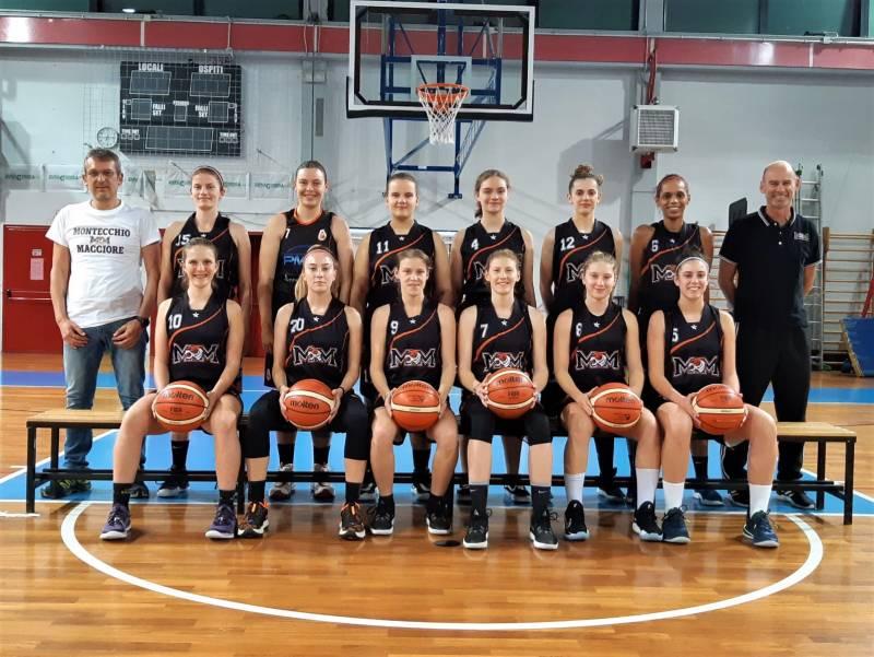 SERIE B: Roster completato per il Basket Montecchio Magg.