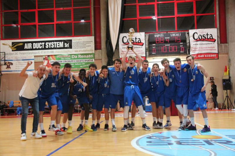 Gli invincibili Piani Junior U18 Campioni Veneto Gold