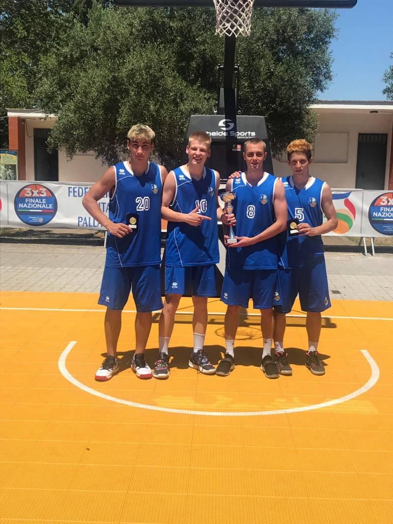 Piani Junior Basket Vicecampioni d