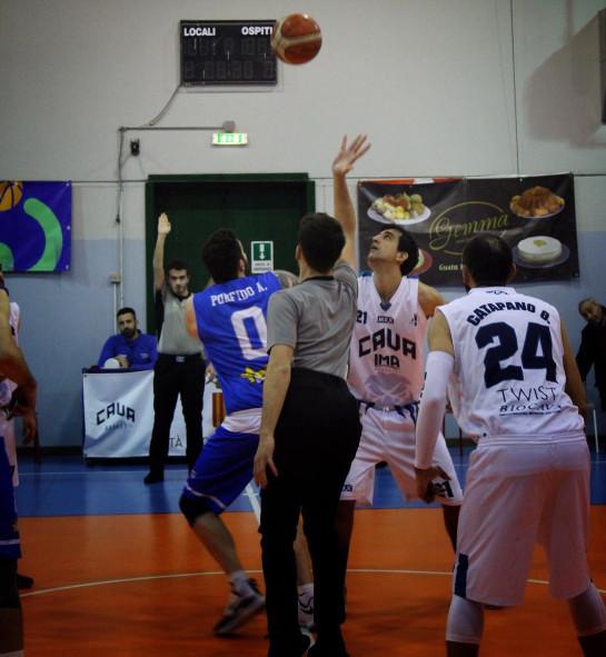 Il Cava Basket torna alla vittoria: battuta la Virtus Curti