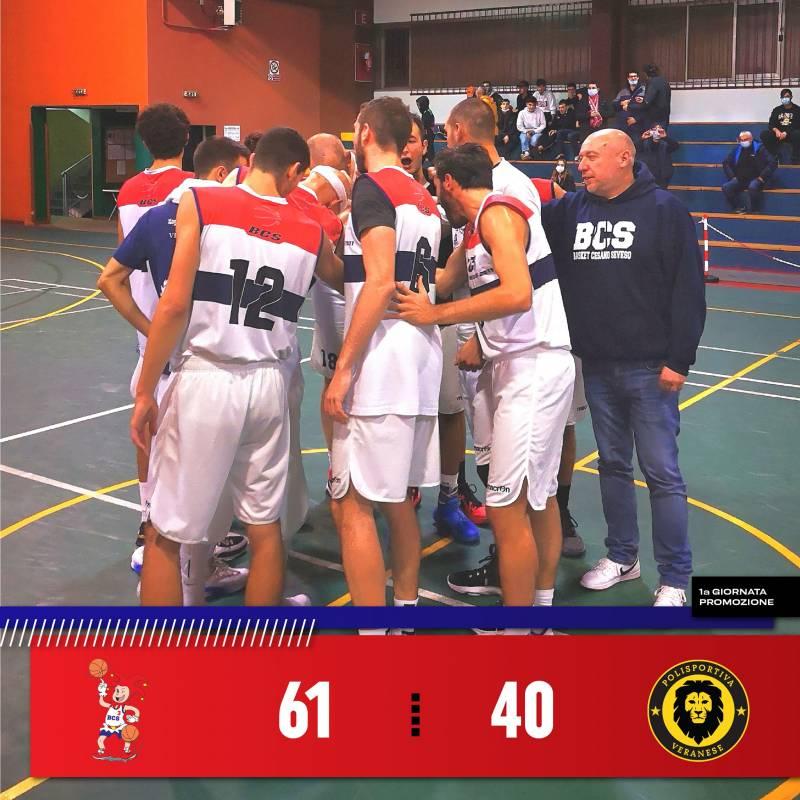 Basket Cesano Seveso, subito centro all'esordio