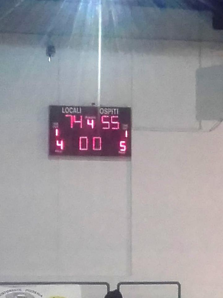 Finisce col risultato di 74-55 la trasferta Vitalis contro il CMB Porto Torres