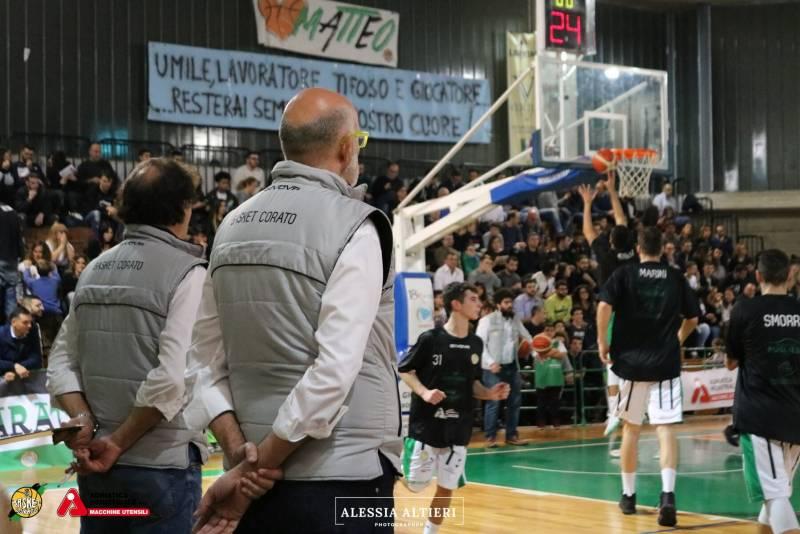 Il match sarà disputato al PalaColombo di Ruvo di Puglia