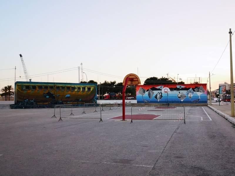 Inaugurato il campetto esterno al PalaConad