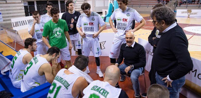 Esonero per coach Marsigliani panchina a Sandro Pozzetti