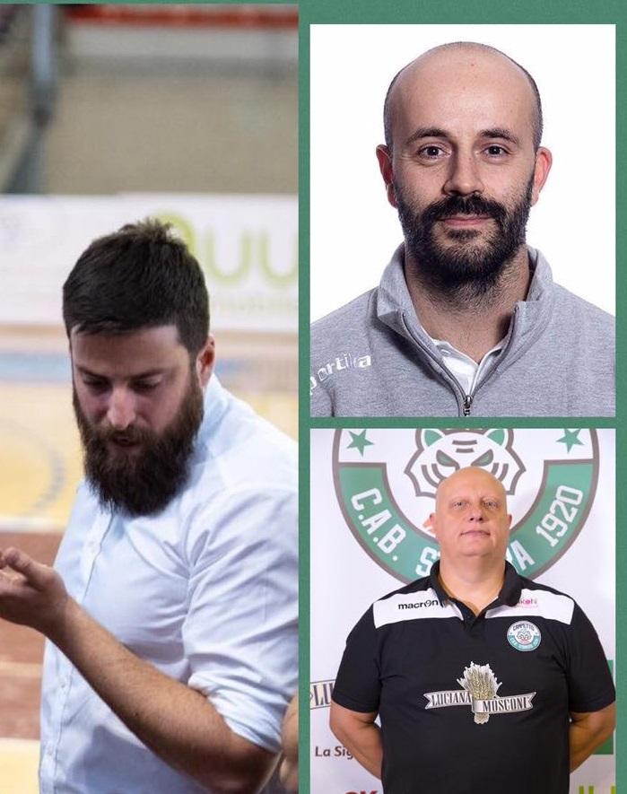 ancotto, Bigi e Mele completano lo staff tecnico 2019/2020