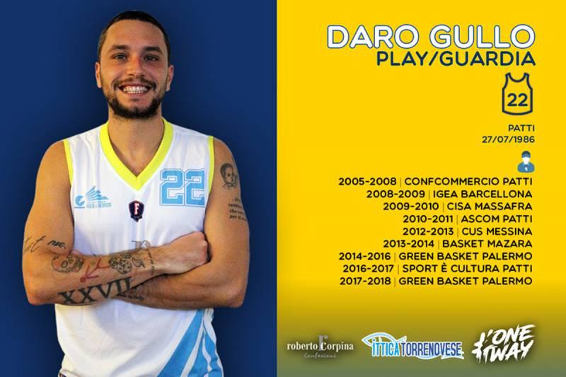Daro sceglie le Aquile: Gullo nuovo play/guardia di Torrenova!