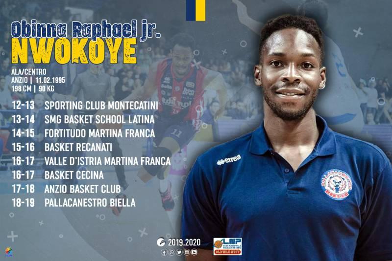 Fisicità ed esplosività sotto le plance: da Biella ecco Obinna Nwokoye!