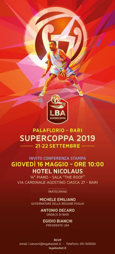 Supercoppa 2019 a Bari: definiti gli accoppiamenti per le semifinali