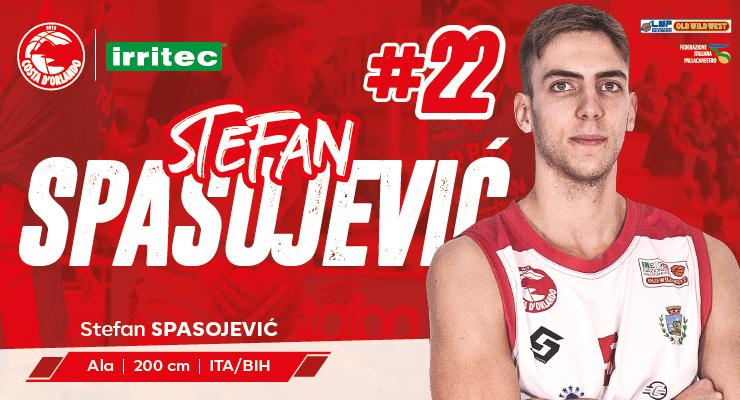 Con la conferma di Stefan Spasojević il roster della Costa è completo!