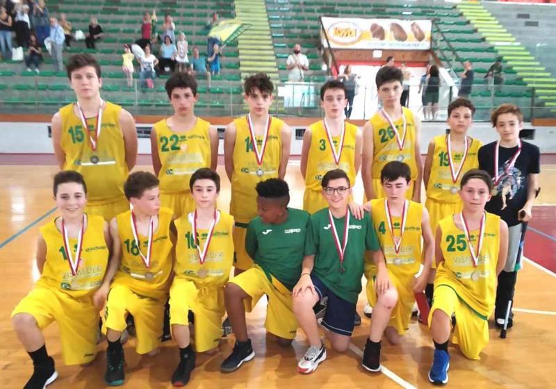 U13 Bancacras Costone seconda alle Final Four di Coppa Primavera a Livorno
