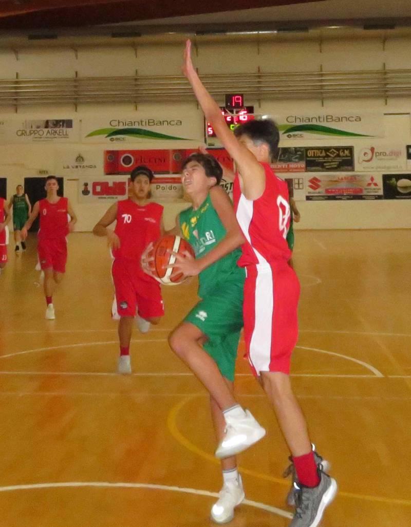 L'U16 Brancacras Vismederi chiude l'anno con una sconfitta sul campo del Don Bosco Livorno