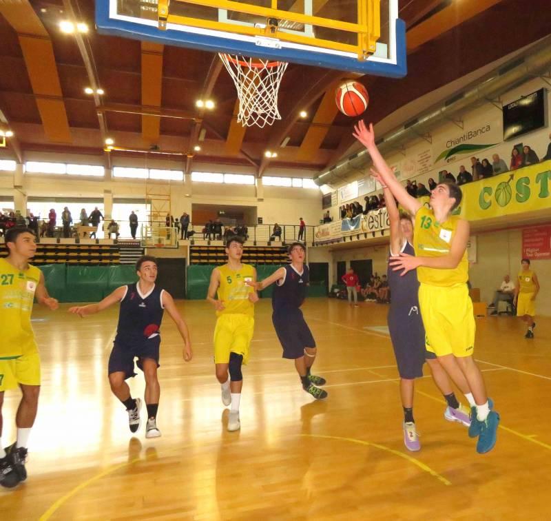 Non belli, ma vincenti gli Under16 di BancaCras Nannini Costone Siena a Firenze