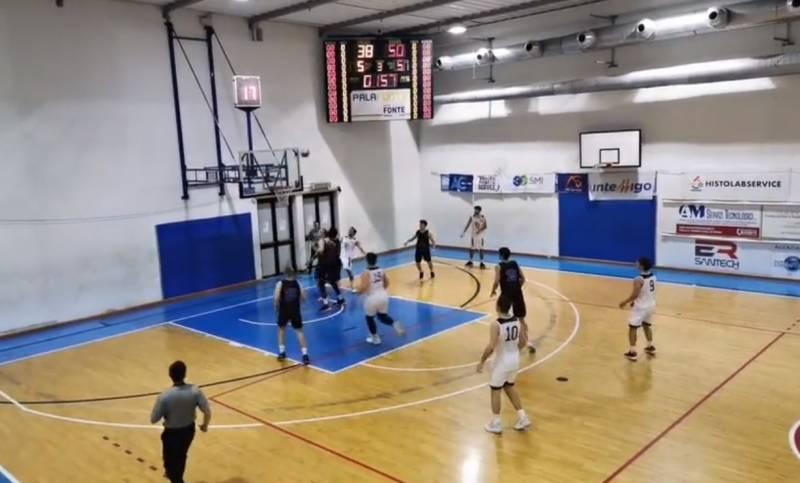 La Fonte Roma Basket si ferma a tre: passa Stella Azzurra Roma