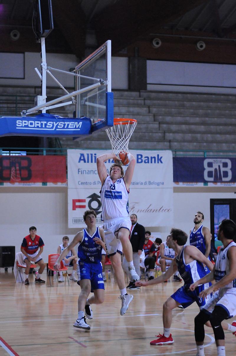 Un Bologna Basket 2016 decimato cede ad Agrigento: 89-77