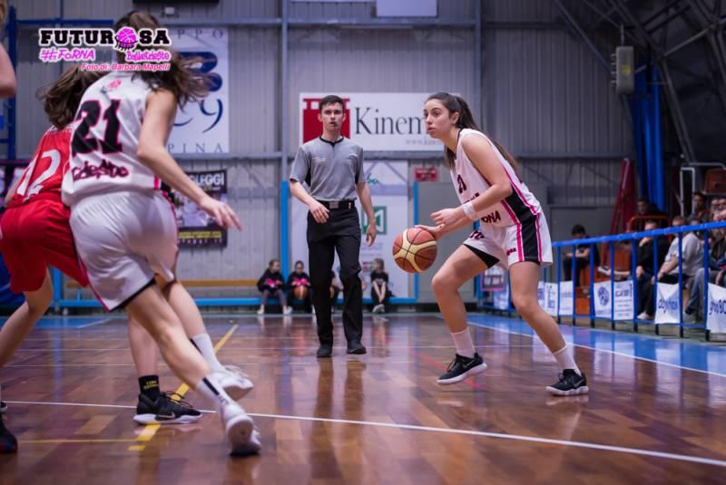 Futurosa vince la sfida contro le Giovani Lupe 86-55 e chiude il campionato di serie B al 7° posto