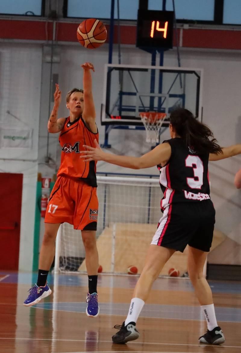 Sconfitta onorevole per il Basket Montecchio a Trieste