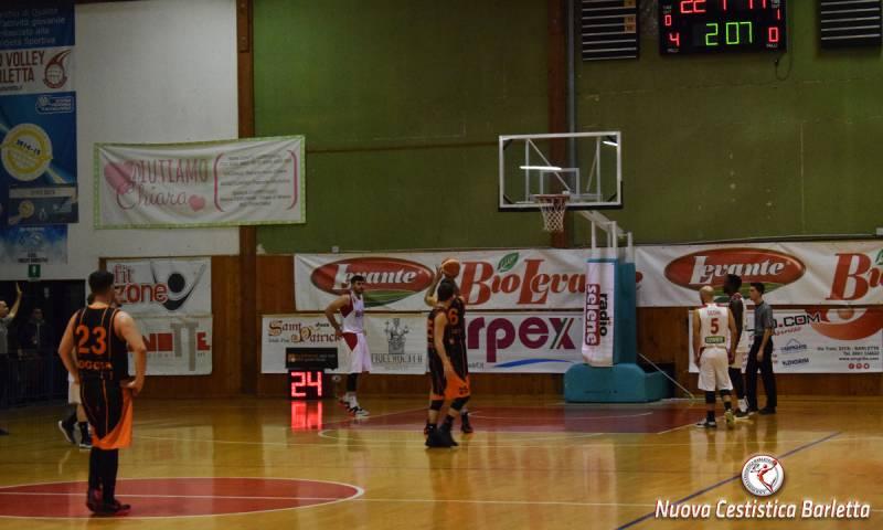 La Rosito Barletta si arrende solo a gara 3: 83-57 il finale contro Manfredonia