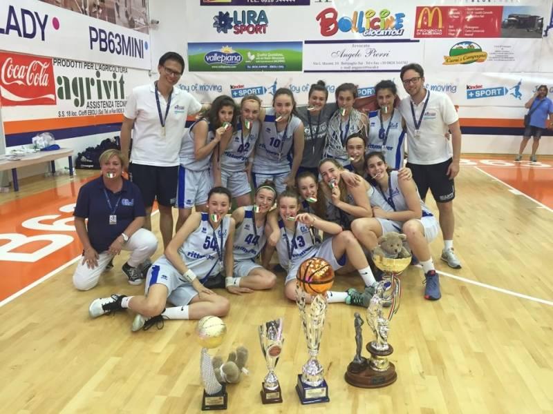 Marghera vince lo scudetto under 16 femminile