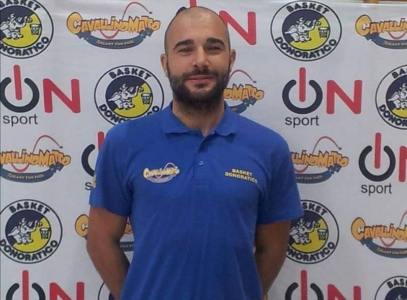 Coach Marco Iaconi alla guida della Prima Squadra di Serie D