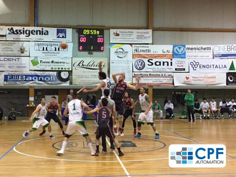 Netta sconfitta sul campo di Fucecchio, terza forza del campionato, per la CPF Galli Terranuova