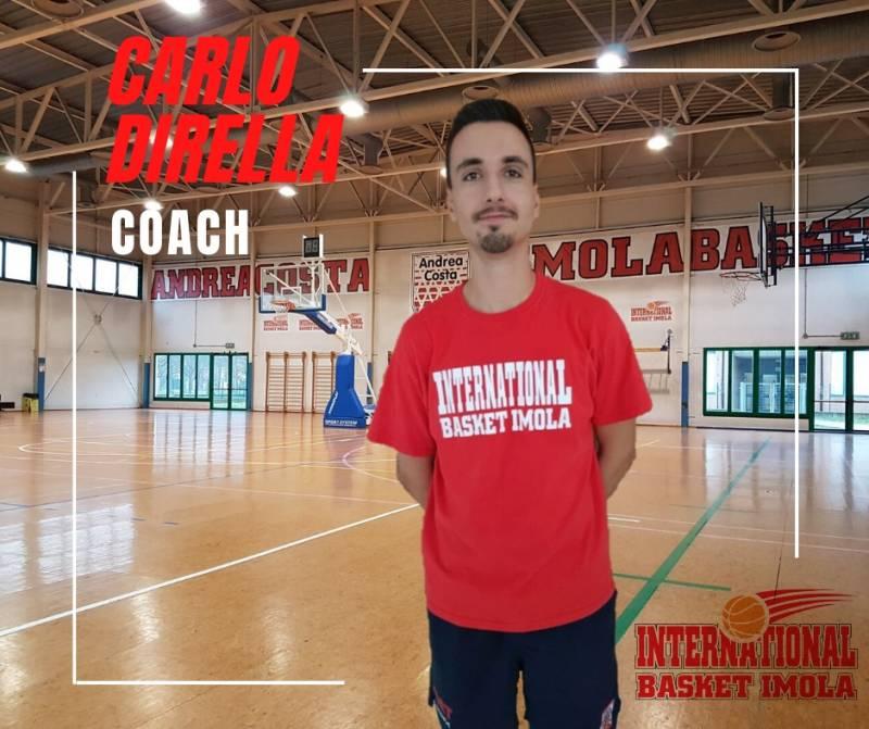 Carlo Dirella nuovo capo allenatore della serie D