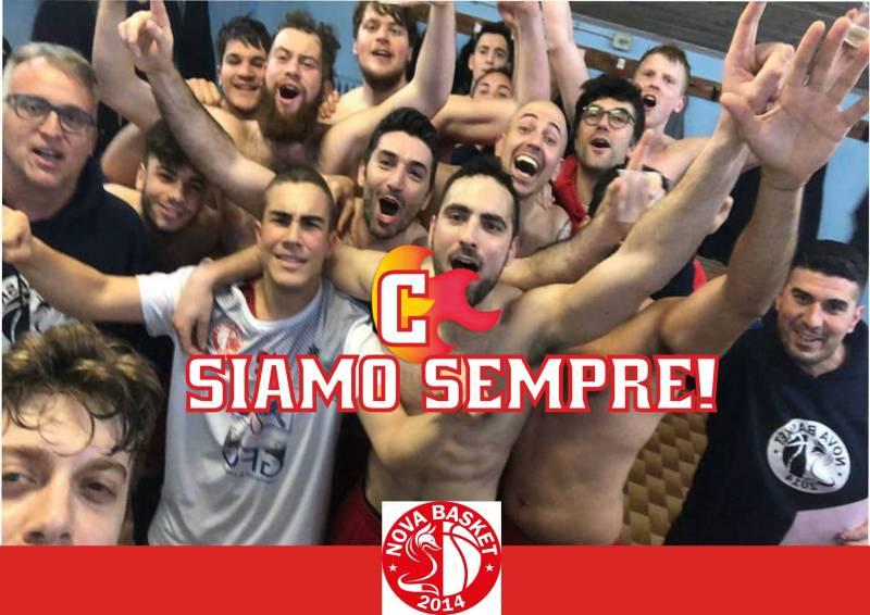 La Nova festeggia, è ancora Serie C Silver!