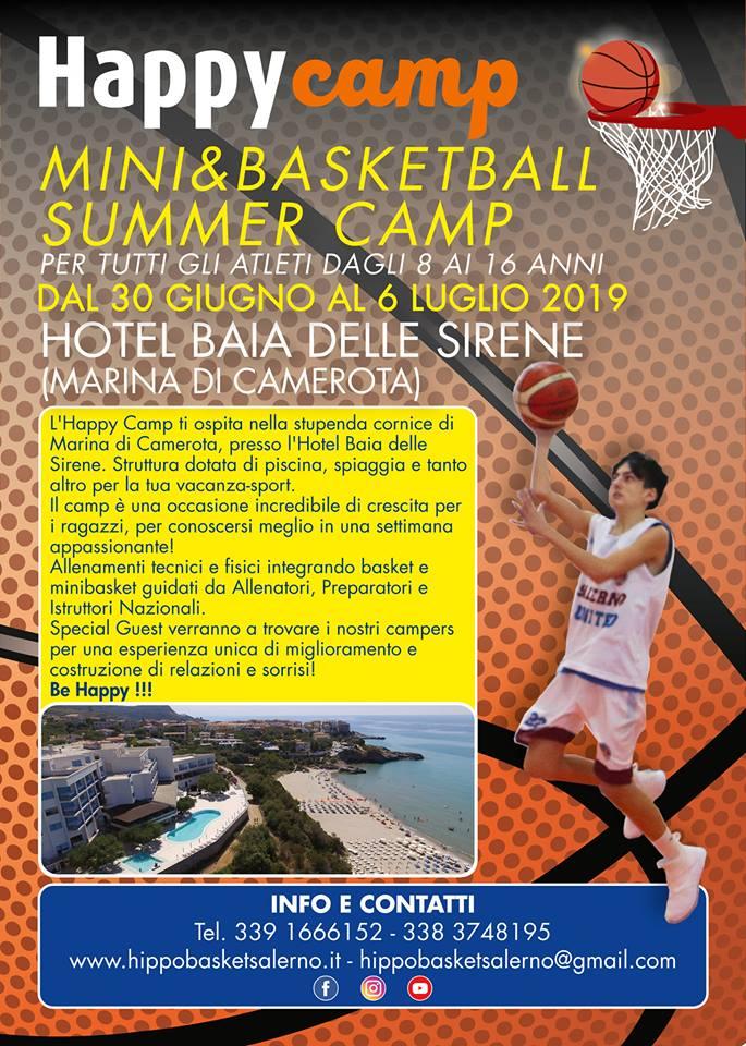 Happy Camp - Mini & Basketball Summer Camp, ecco la novità dell