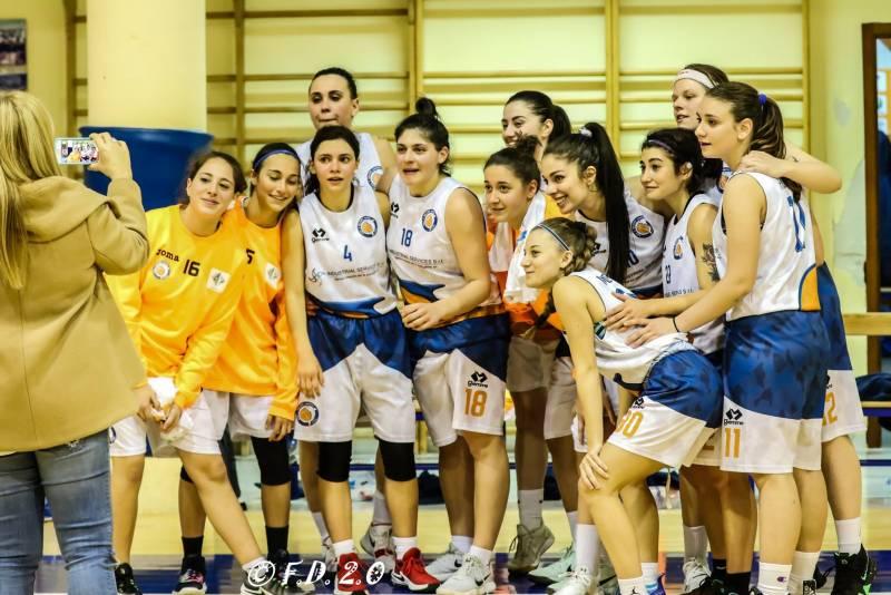 C Femminile, la Scuola Basket Delfini Monopoli conferma il suo impegno
