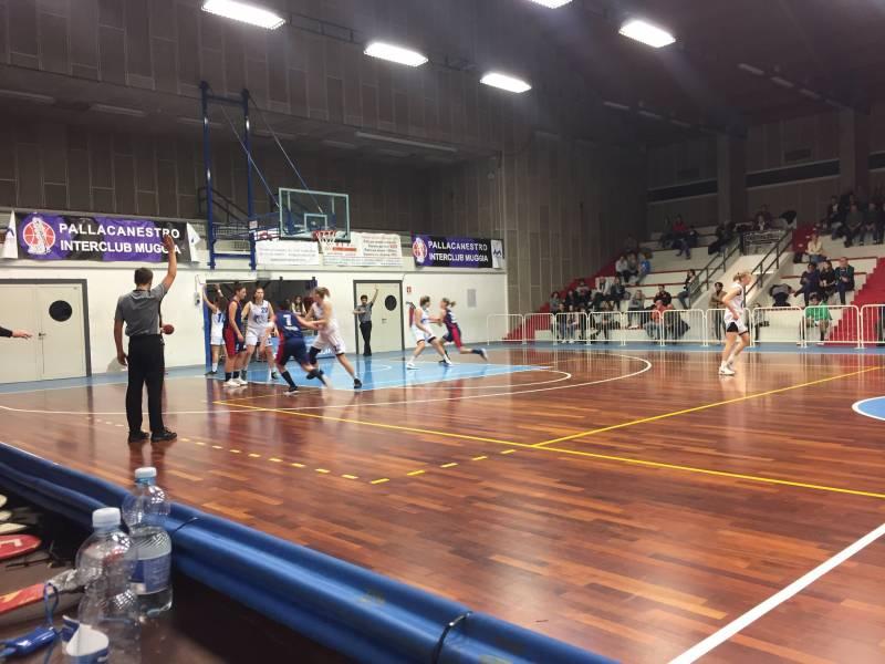 Sconfitta per le ragazze LCB a Muggia in casa dell'Interclub con il punteggio di 63-57