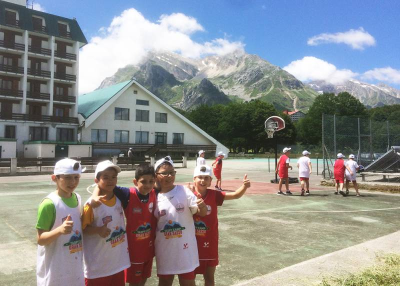 Sale la Voglia di Basket con il TaSpy Camp Gran Sasso