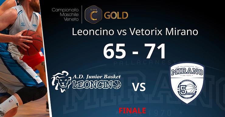 Vetorix Mirano, si torna finalmente in campo: c'è il derby con il Leoncino