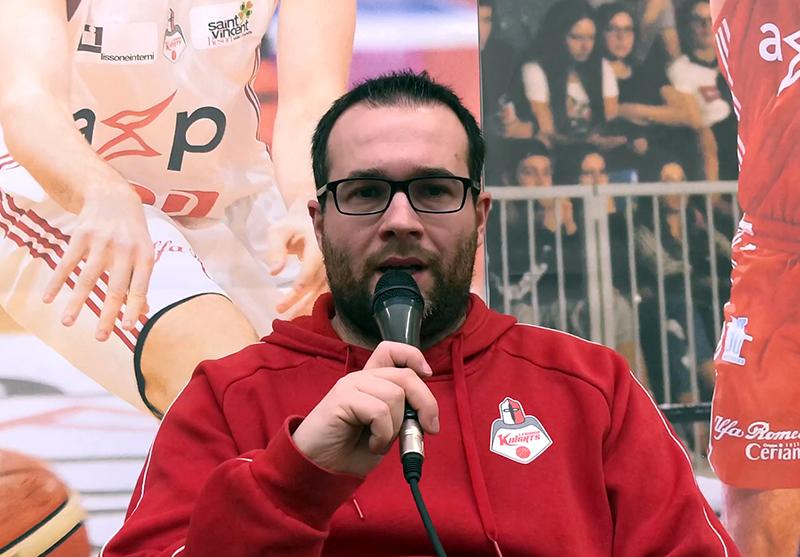 In conferenza stampa Alberto Mazzetti parla del mancato match con il Siena